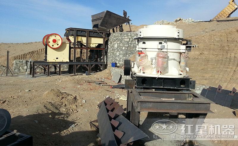 红星厂家配置的砂石生产线